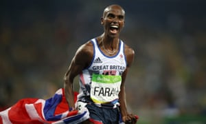 Mo Farah won gold in the 2012 and 2016 Olympics and is set to compete this year in Tokyo.