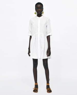 Dress, Zara, £29.99
