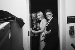Emma Hindley, Lucy Worsley and Emma Frank