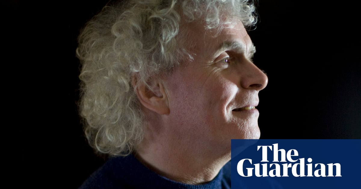 Simon Rattle: 'I would have been wary about taking the job ...
