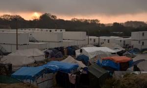 The Calais migrant camp c