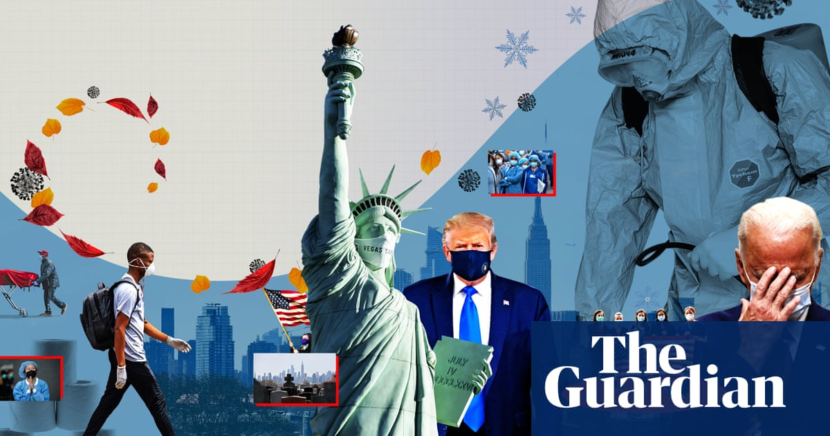 'The virus doesn't care about excuses': US faces terrifying autumn as Covid-19 surges