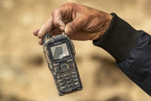 A Hytera two-way radio