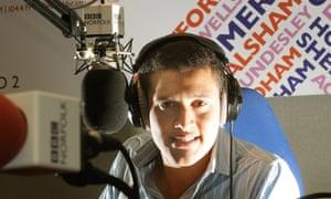 BBC Radio Norfolk host Nick Conrad, pictured in 2010.