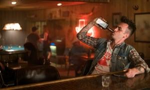 Cassidy the liquor-loving vampire, played by Joe Gilgun.