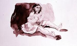Illlustration: Bertha by Paula Rego