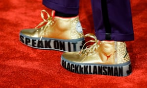 US director Spike Lee's shoes.