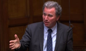 Former Tory cabinet minister Oliver Letwin in parliament
