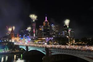 The Princes Bridge in Melbourne.