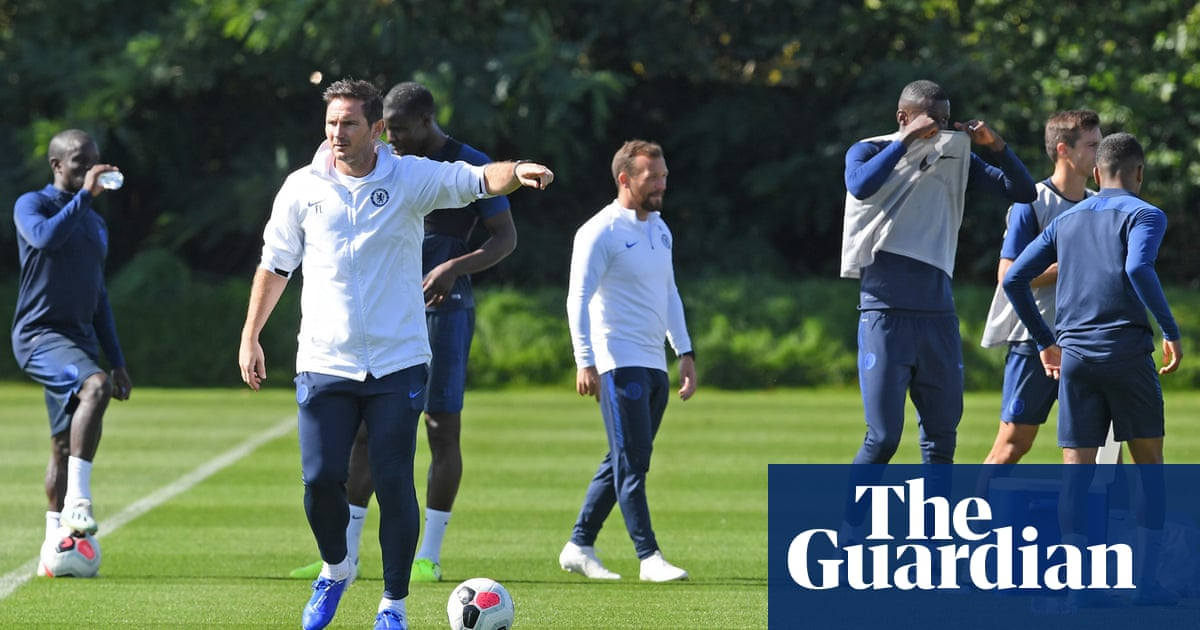 Frank Lampard says place in the top six cannot be guaranteed for Chelsea