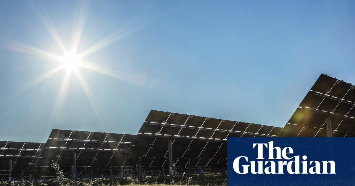 Solar power in Australia outstrips coal-fired electricity for first time