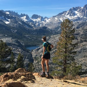 Monica Prelle regularly runs a section of the Pacific Crest Trail.