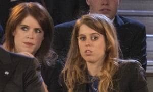 Princesses Beatrice and Eugenie at the Royal Windsor Horse Show.