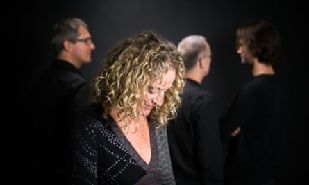 the Berlin-based British pianist Julie Sassoon and other members of her quartet.