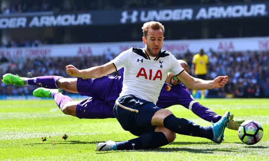 Harry Kane's 29 goals for Tottenham this season helped boost the goals-per-game rate.