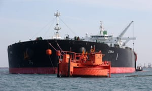 The Starla, an Iranian large crude oil tanker.