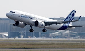 Airbus has announced it is to sell 430 models of its A320neo aircraft in a deal worth £38bn.