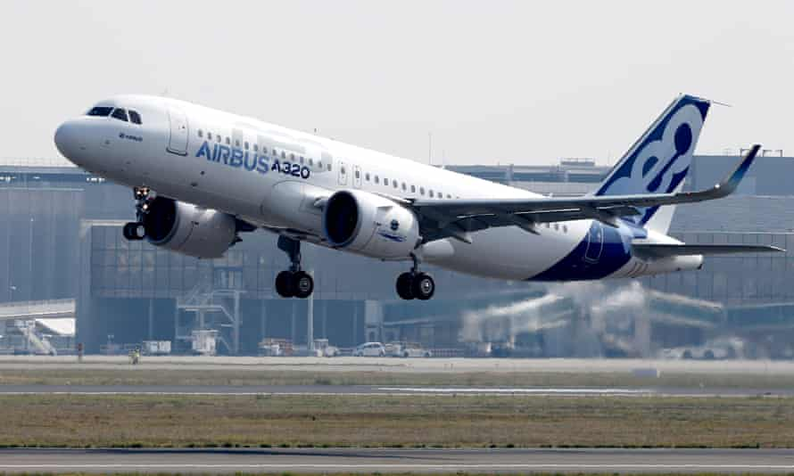 Airbus signs order deal selling 430 aircraft<br>epa06330530 (FILE) - The Airbus A320neo aircraft takes off for its first flight from the airport of Toulouse-Blagnac, southern France, 25 September 2014 (reissued 15 November 2017). According to media reports, Airbus has announced it is to sell 430 models of its A320neo aircraft in an order deal worth some 42.2 billion euros. EPA/GUILLAUME HORCAJUELO