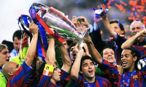 Football Quiz When Barcelona Won The Champions League Final In 2006 Football The Guardian