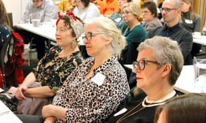Teachers, librarians and other professionals in attendance at the Guardian Education Centre Reading for pleasure conference 28 March 2019