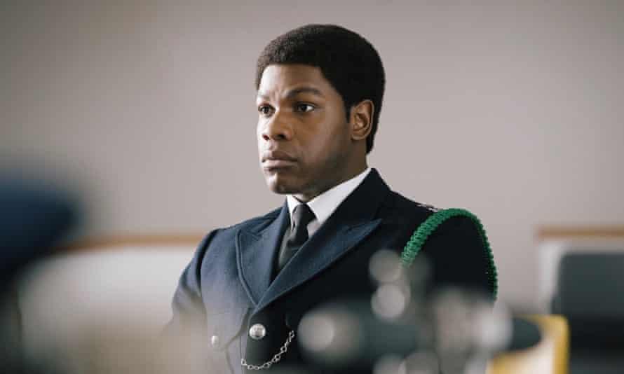 John Boyega as Leroy Logan.