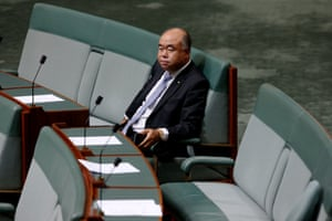 Liberal chair of the human rights committee, Ian Goodenough who handed down the 18c report.