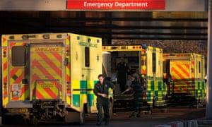 NHS funding shortfall is reaching emergency levels, says Hopson.