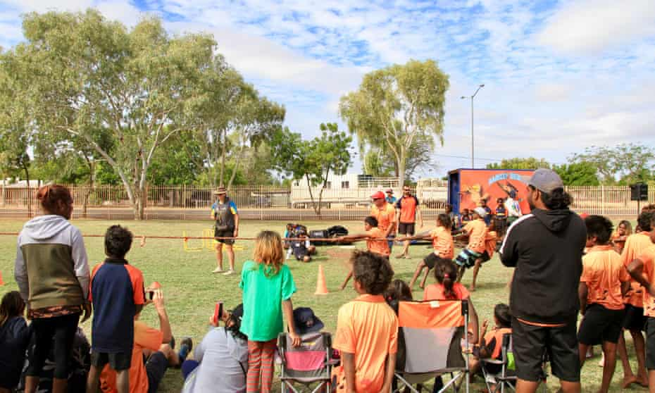 A sports carnival in Tennant Creek this month
