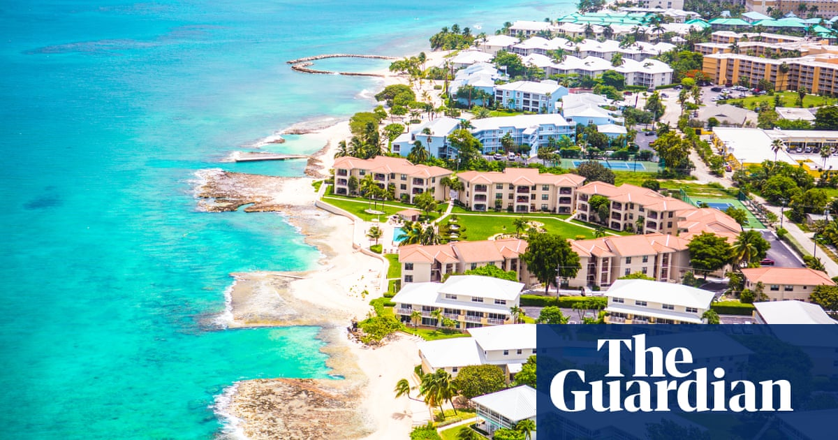 The Cayman Islands – home to 100,000 companies and the £8 50