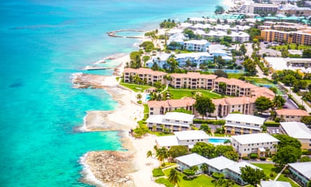 The Cayman Islands, a popular tax haven in the Caribbean.