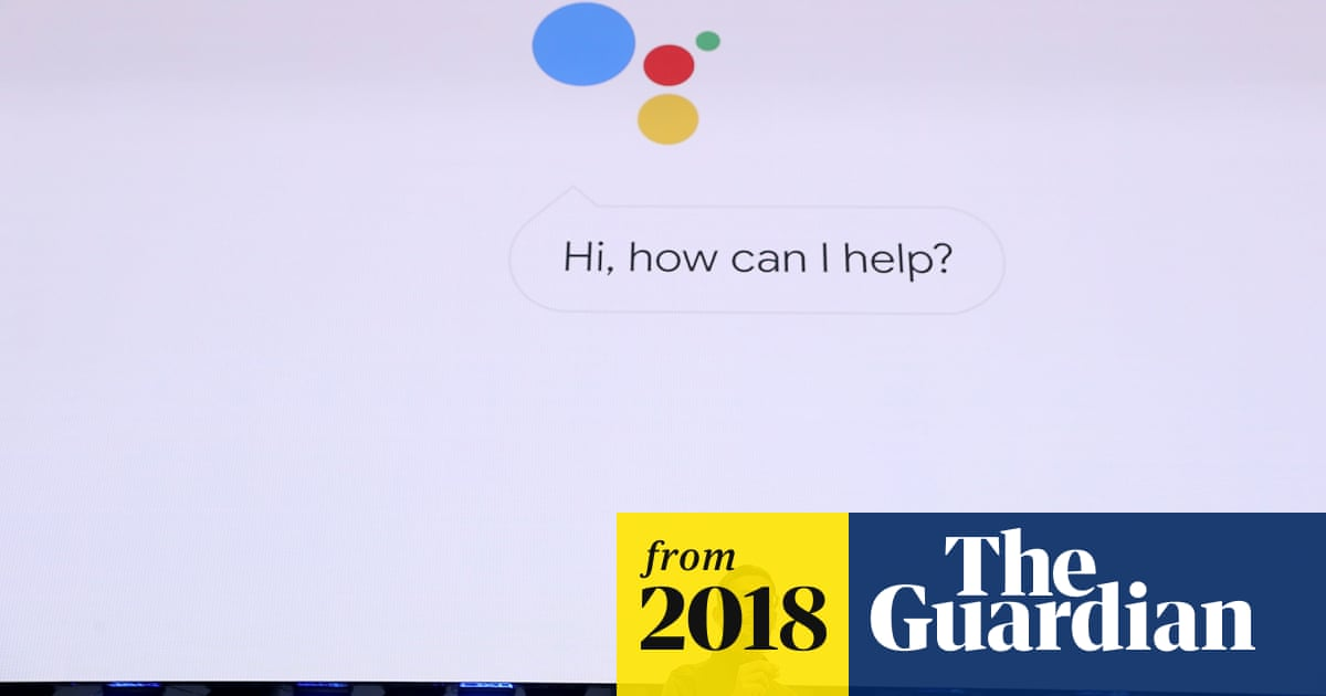 Hear Google's virtual assistant mimic a human voice to book