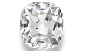 The 'exceptionally sized' diamond, to be auctioned by Sotheby's in London.