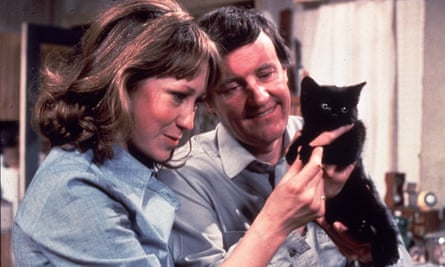 Self-sufficient: Felicity Kendal and Richard Briers in the hit 70s sitcom, The Good Life.