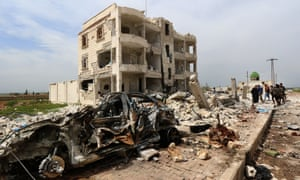 Aftermath of alleged bombings by Islamic State of Marea