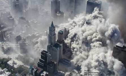 9/11 attack on New York