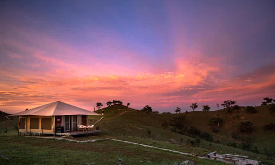 Scenic country views from Sierra Escape in Mudgee