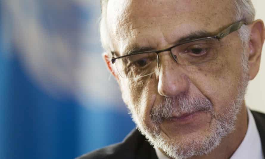 Iván Velásquez, commissioner of the United Nations International Commission Against Impunity, Cicig, has successfully pursued numerous corruption cases in Guatemala.