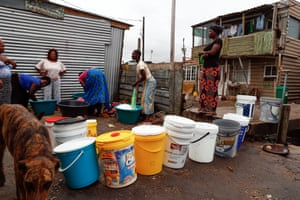 For residents of informal Cape Town settlements such as Masiphumelele, collecting drinking and washing water from a communal tap has been a daily routine for many years.