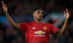 Marcus Rashford gave no sense of being part of a cohesive unit against Valencia.