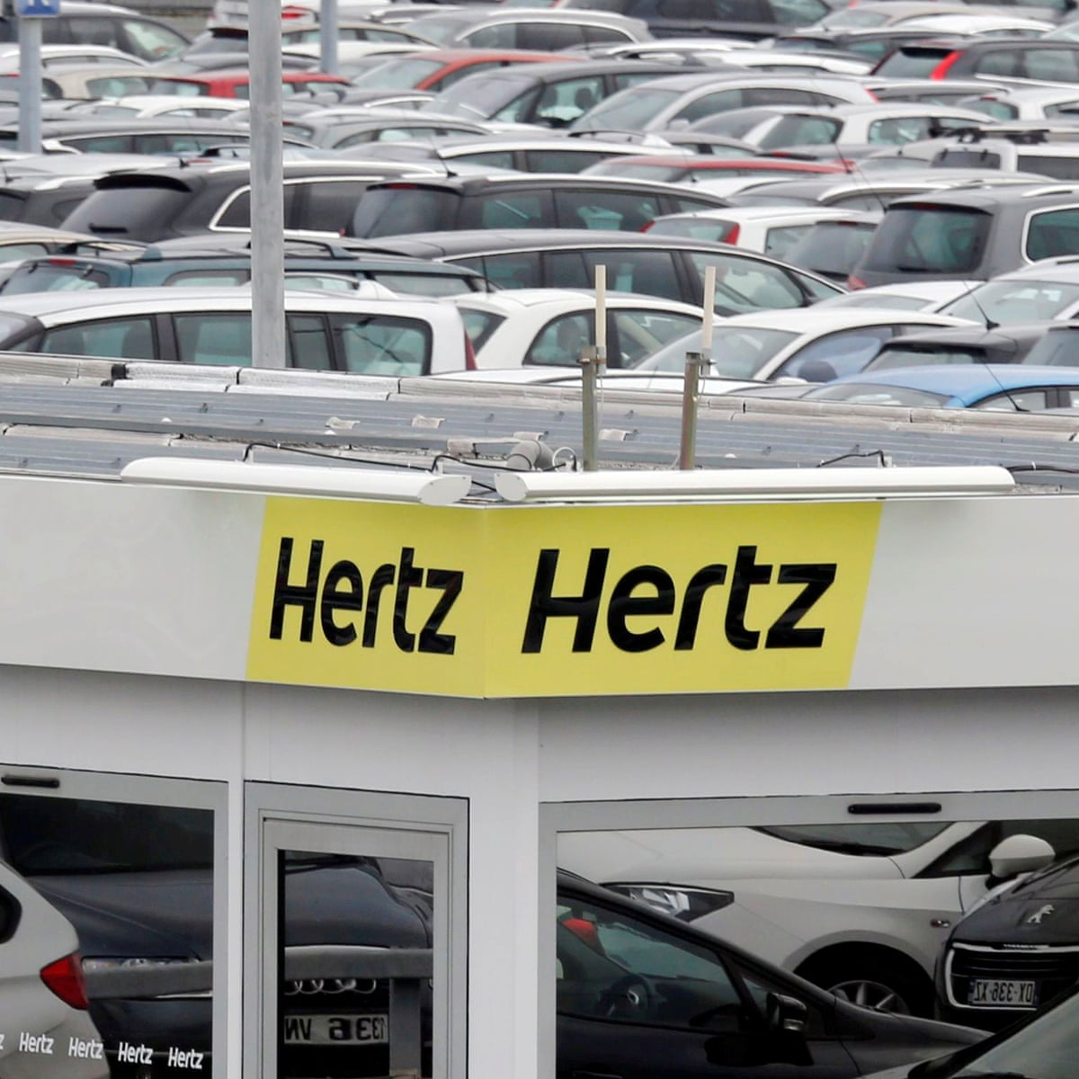 Car Rental Firm Hertz Files For Bankruptcy Protection In Us Business The Guardian