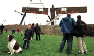angel of the north construction