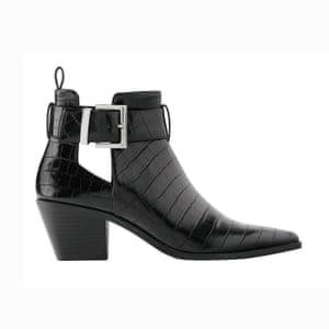 Black boots, £39.99, zara.com.