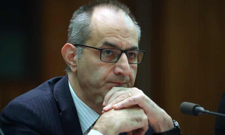 The home affairs department secretary, Mike Pezzullo
