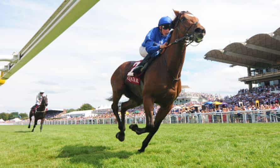 Cross Counter cuffed the Derby runner-up, Dee Ex Bee, at Glorious Goodwood.