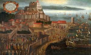 La Expulsión en el Puerto de Denia. Vicente Mostre