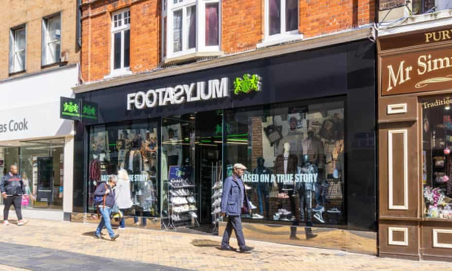 A Footasylum store