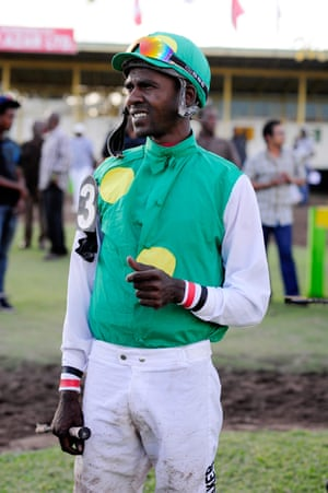 Former champion jockey Omar Walker, who won the title for 4 consecutive years plus on 2 other occasions