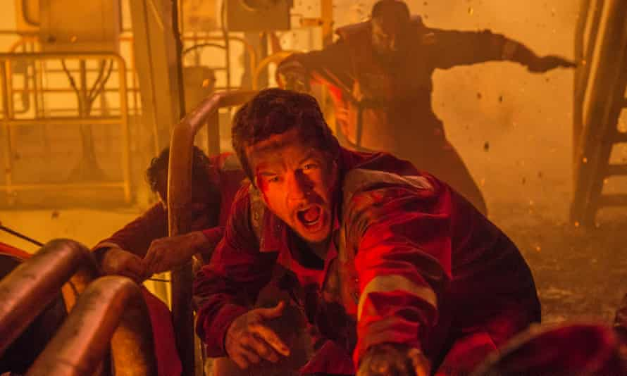 Mark Wahlberg in film Deepwater Horizon about the BP oil spill in the Gulf of Mexico
