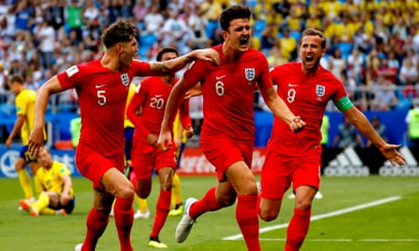 e48f51349ca Harry Maguire's header and fans going berserk: England v Sweden – in  pictures