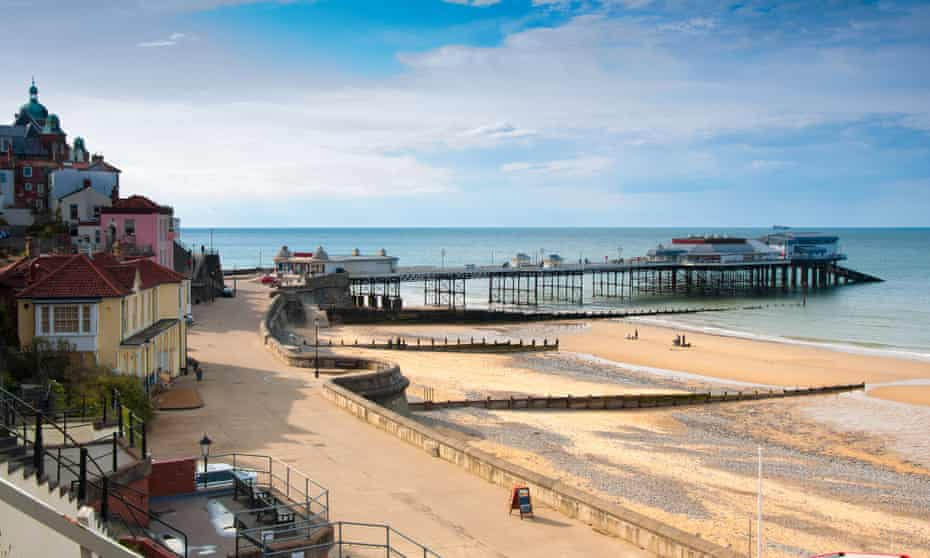 The Victorian seaside resort of Cromer is well placed for exploring the Norfolk Coast Path.